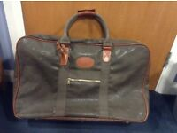 Mulberry brown suitcase used but in good condition.