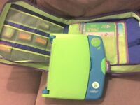 Kids LeapPad Learning System Console Case and Books Games Cartridges Toy