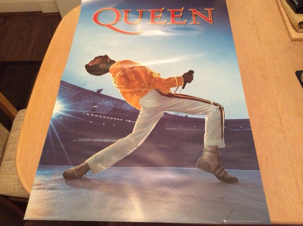 Queen Poster Wembley 61 x 91.5cm