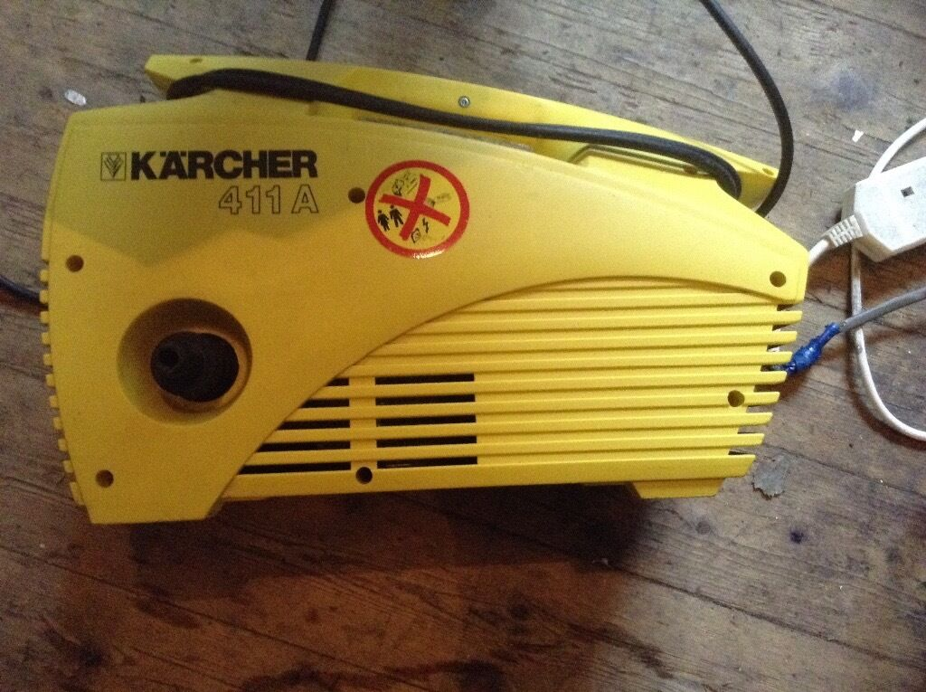 Karcher pressure washer 411a,£35.00
