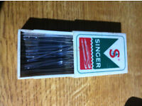 Antique Vintage - Box of Singer Sewing Machine Needles - RARE - Around 1960's -