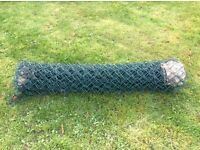 Plastic 4 ft chain link fencing