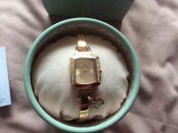 Brand new rose GP Radley semi bangle watch
