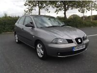 Seat Ibiza 1.2..5dr..1 Full years MOT..Excellent condition..Low mileage..2005