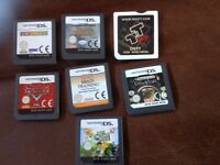 Nintendo DS games x 7