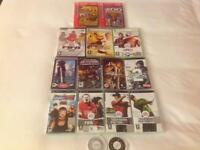 Collection of Games - PSP, XBOX 360 & PC CD-ROM & Sony PS One Controller