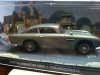 James Bond model car collection