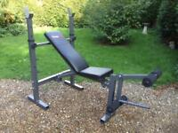 Bodymax Foldable Bench (Delivery Available)