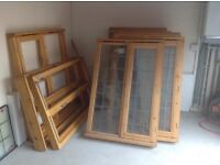 11 Double Glazed and leaded Windows + 20 double glazing glass units