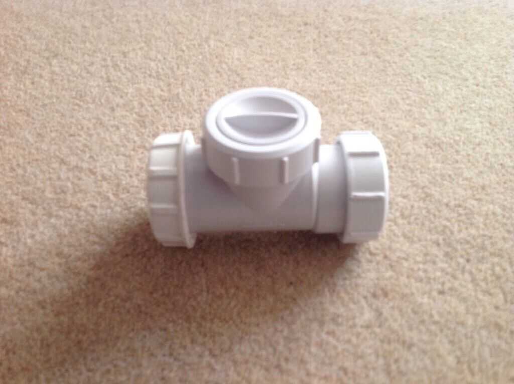 MCALPINE T28-NRV NON-RETURN VALVE WHITE 40MM | in Barrhead, Glasgow |  Gumtree