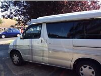 Mazda Bongo Frendee in good condition with awning, auto freetop, sink, hob, fridge, air con.
