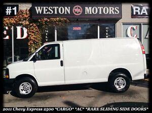 2011 Chevrolet Express 2500 *CARGO *AC *RARE SLIDING SIDE DOORS