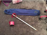 Highland Dancing Hilts and carry bag