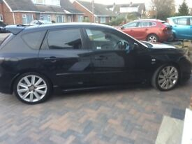 MAZDA3 MPS BLACK LEATHER, BOSE SOUND, 6 SPEED, GREAT FAST CAR