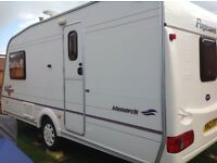 Bailey Pageant Monarch. 2004. 2 Berth. Motor mover. Porch awning.