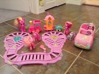 My Little Pony Friendship Express Train and Car including 5 My Little Pony's