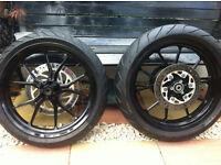 KTM DUKE 200 wheels