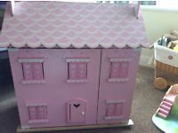 Dolls house and fairy tower for sale