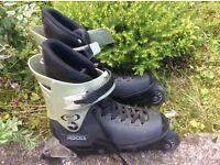 Roces size 8 women's Italian in-line skates