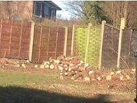 Free logs - lots left contact me now to come this afternoon