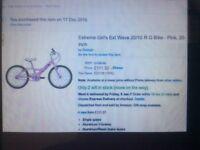 Girls Brand new still boxed bike,
