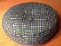 Handmade new floor cushion or pet bed