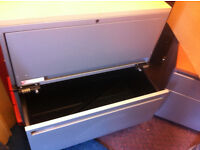 office filing cabinet pedestal with code lock can be use as safe