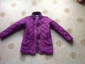 Girls purple Regatta jacket age 8-9 years