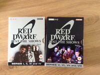 Red dwarf dvds