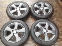 Vauxhall Corsa D Facelift 4 Stud Refurbed Alloys.