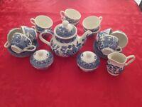 Willow Pattern Tea Set