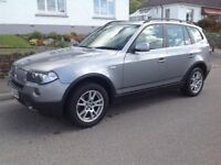 BMW X3 top spec