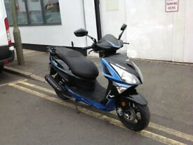 LEXMOTO TITAN 125 EFI COMES FULLY SERVICED NEW TYRES 12 MONTHS MOT 3 MONTHS WARRANTY