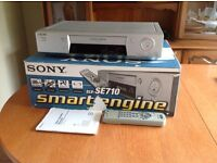 Sony Smart Engine VHS VCR video recorder