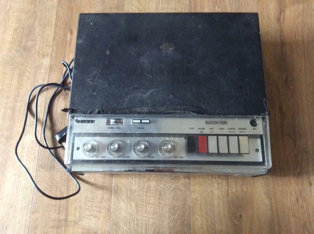 Vintage Marconiphone Reel to Reel Tape Recorder | in Poringland, Norfolk |  Gumtree