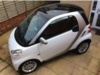 2009 59 Smart Car ForTwo Passion MHD Auto Coupe Petrol White Model Alloys Immaculate FSH MOT NOV'17