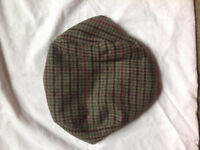 Cotton Summer Boys Kids Beret Tweed Flat Cap - 52cm - NEW - FREE POSTAGE
