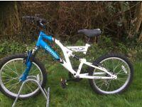 Kids bike Vertigo Etna, dual suspension