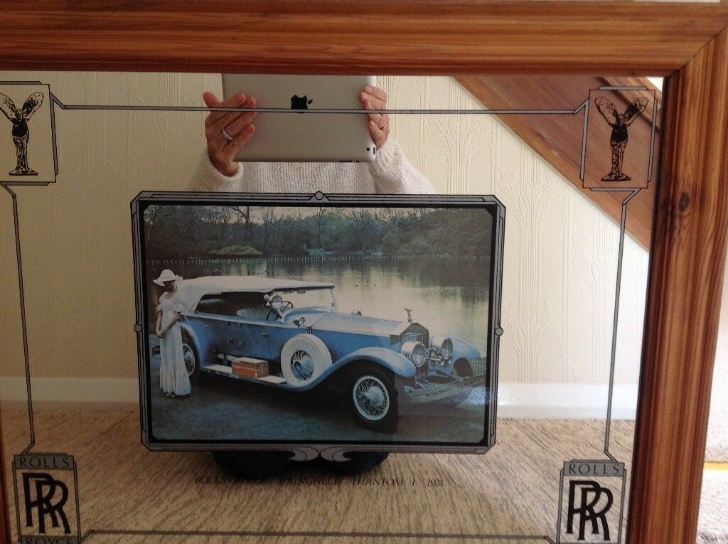 Ornamental RR mirror