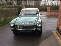 MG Midget Mk1 - reliable car used regularly