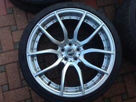 """20"""" New Alloy Wheels & Tyres"""