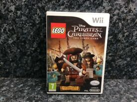 Lego Pirates Of The Caribbean Wii Game