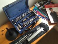 Buffet b12 clarinet plus extras
