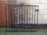 3 x Heavy duty wrought iron gates