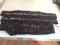 Shimano Alivio carp fishing rods