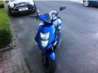 cpi aragon sline 50cc scooter 50 cc moped