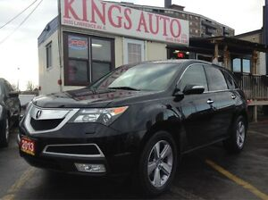 2013 Acura MDX SH-AWD,Nav,Back-Up Cam, DVD Player, Leather, 7Pas
