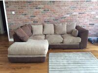 Cosy L-Shape Sofa (female owner, no pets, non smoker) & Rug (optional)