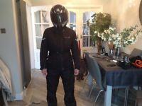 ladies Merlin protective jacket, trousers and helmet