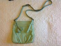 Clarks leather crossbody bag